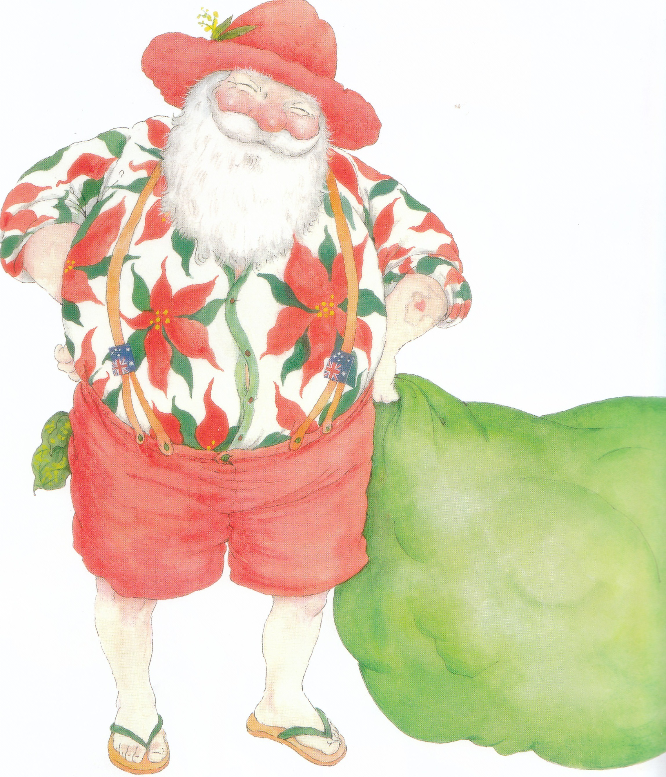 "From the book ""Aussie Night Before Christmas"" by Yvonne Morrison, available at ABC shops"