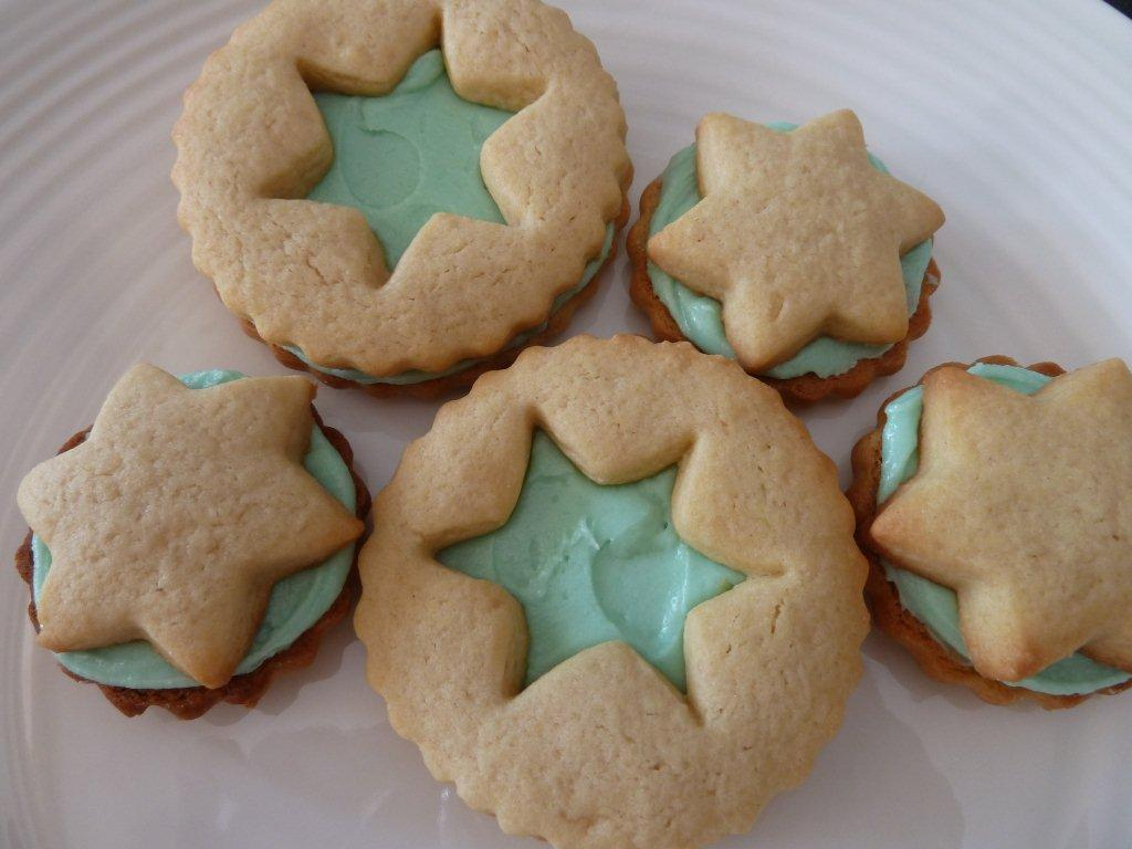 Iced Biscuits Created Today